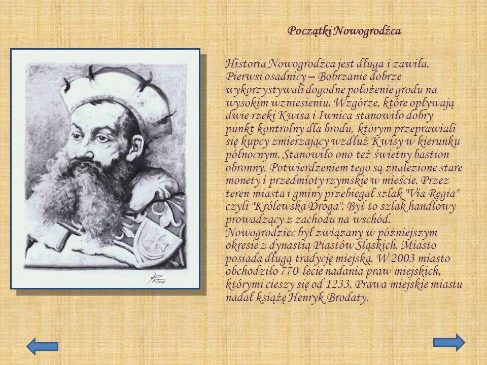 Początki Nowogrodźca