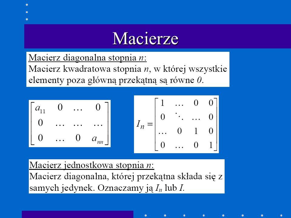 Macierze