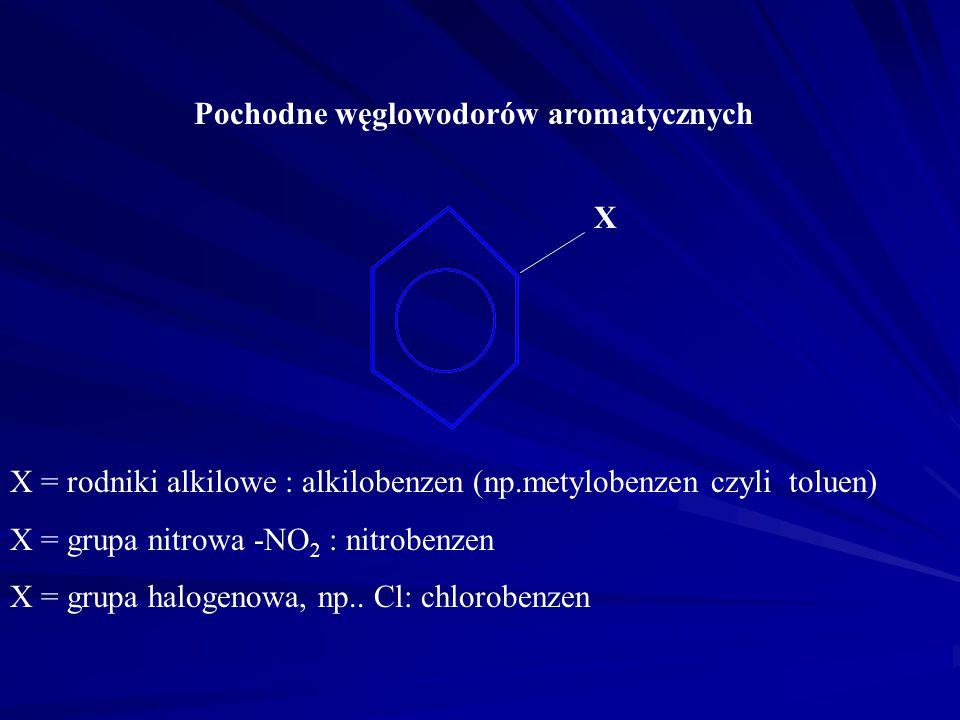 Pochodne węglowodorów aromatycznych