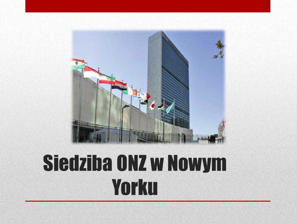 Siedziba ONZ w Nowym Yorku