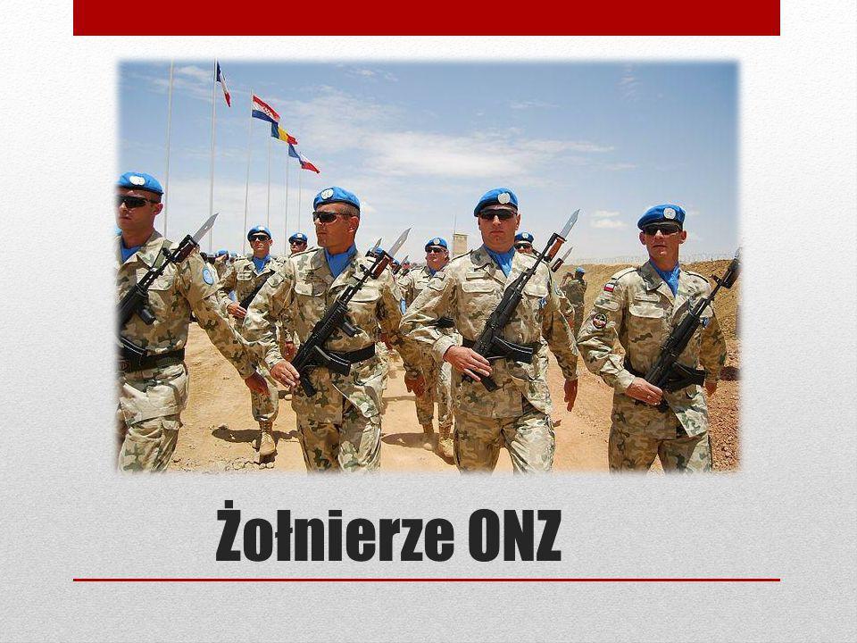 Żołnierze ONZ