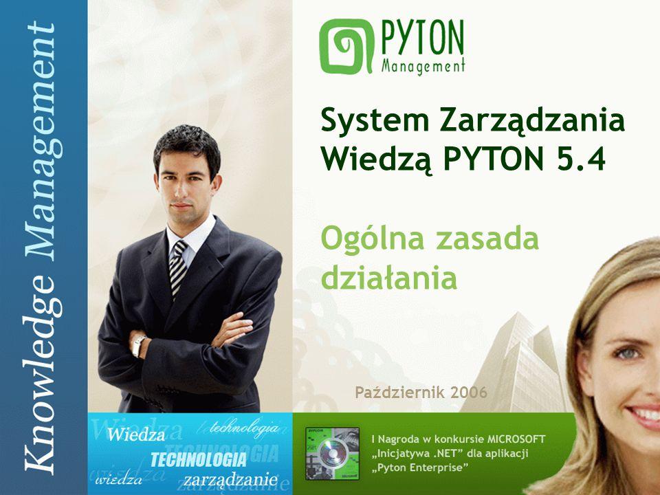 System Zarządzania Wiedzą PYTON 5.4