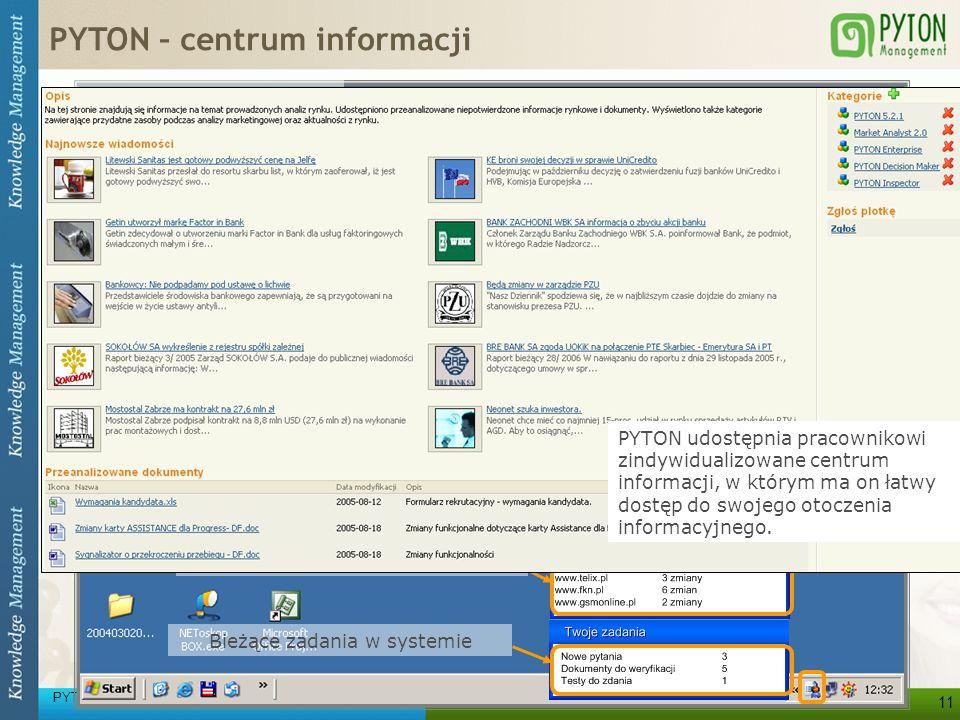 Wszystkie potrzebne informacje prosto na pulpit użytkownika!