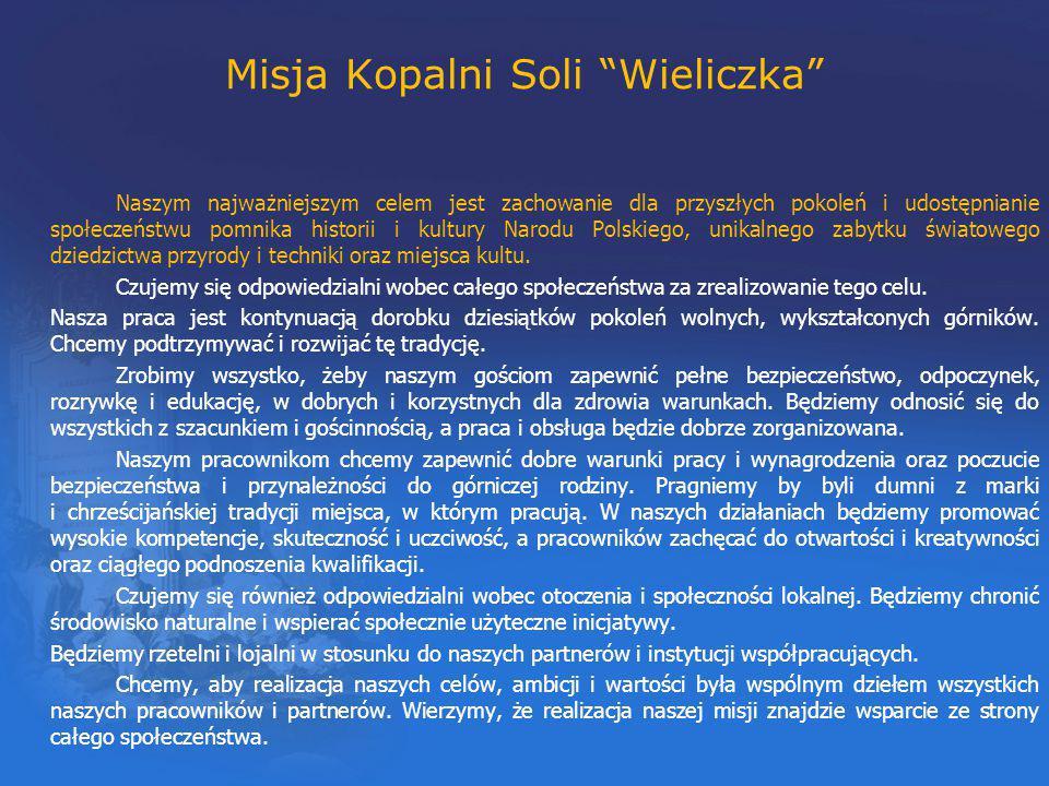 Misja Kopalni Soli Wieliczka