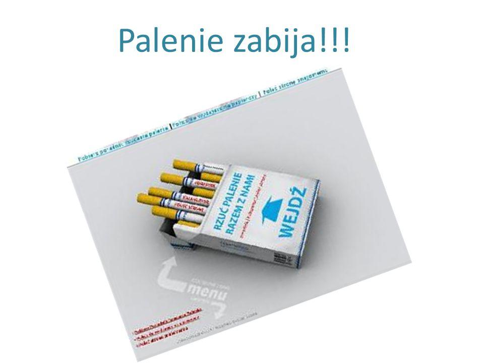 Palenie zabija!!!