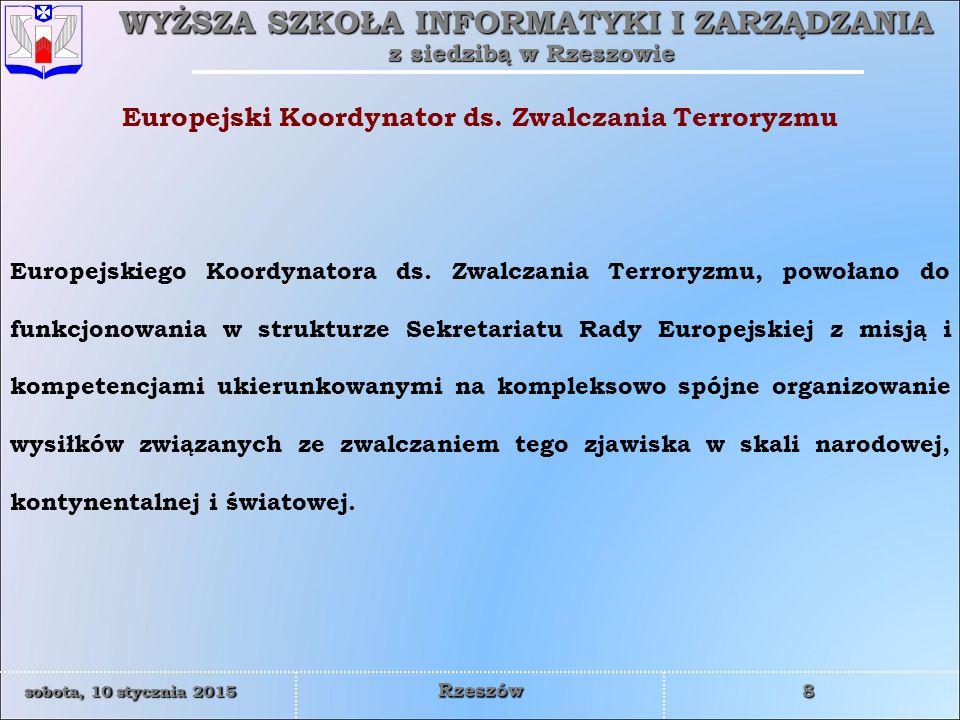 Europejski Koordynator ds. Zwalczania Terroryzmu
