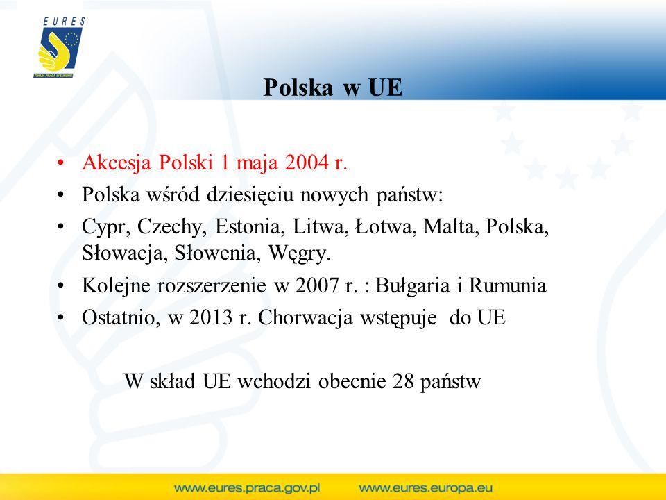 Polska w UE Akcesja Polski 1 maja 2004 r.