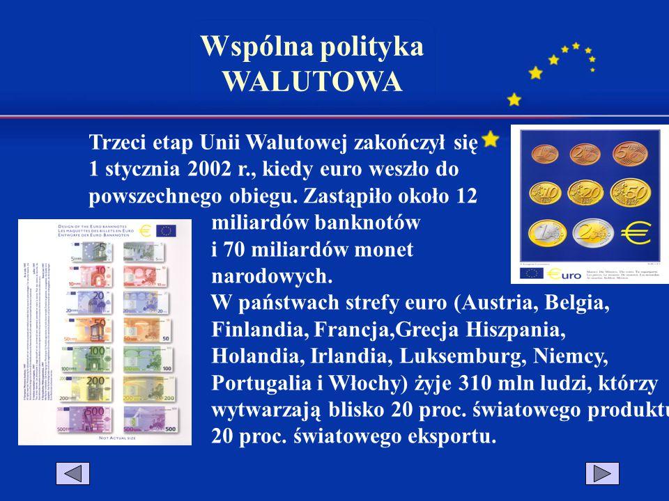 Wspólna polityka WALUTOWA