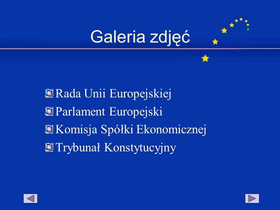 Galeria zdjęć Rada Unii Europejskiej Parlament Europejski