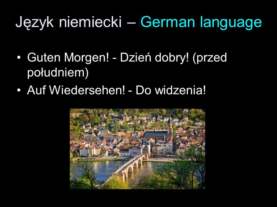 Język niemiecki – German language