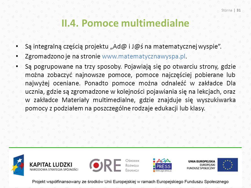 II.4. Pomoce multimedialne