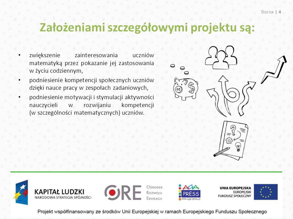 Założeniami szczegółowymi projektu są: