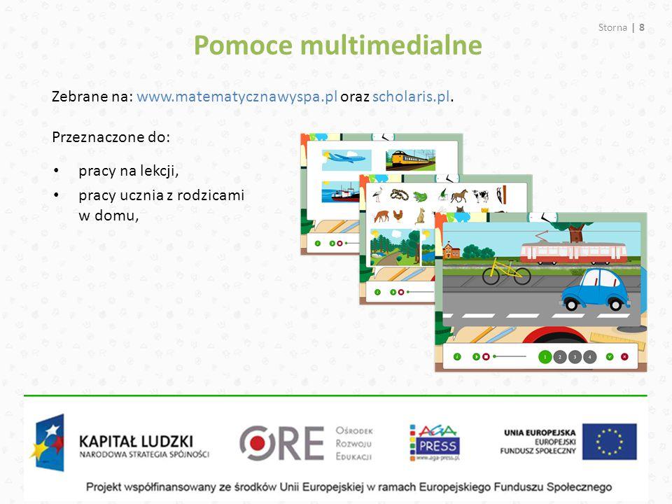 Pomoce multimedialne Zebrane na: www.matematycznawyspa.pl oraz scholaris.pl. Przeznaczone do: pracy na lekcji,