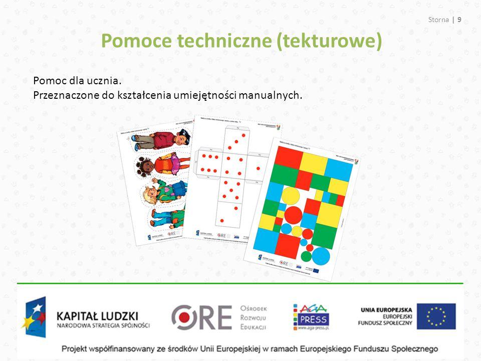 Pomoce techniczne (tekturowe)