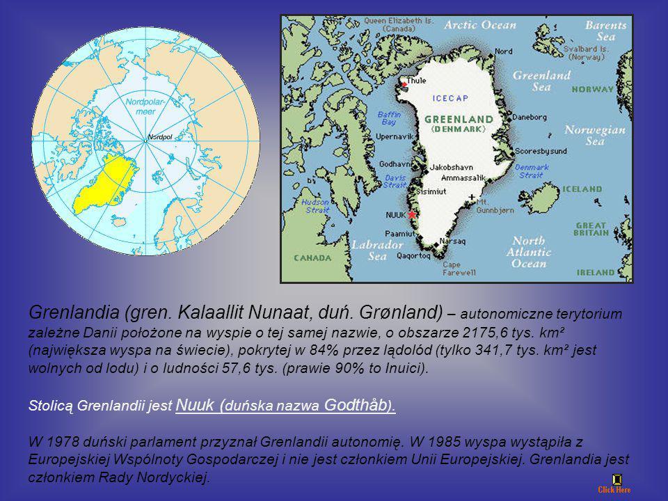 Grenlandia (gren. Kalaallit Nunaat, duń