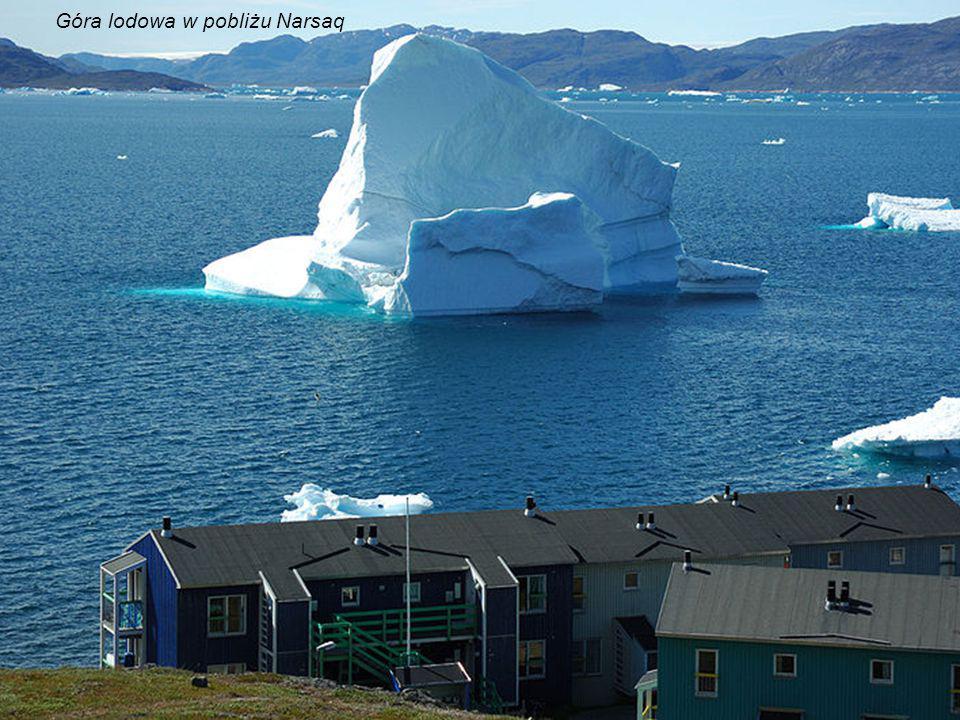Góra lodowa w pobliżu Narsaq