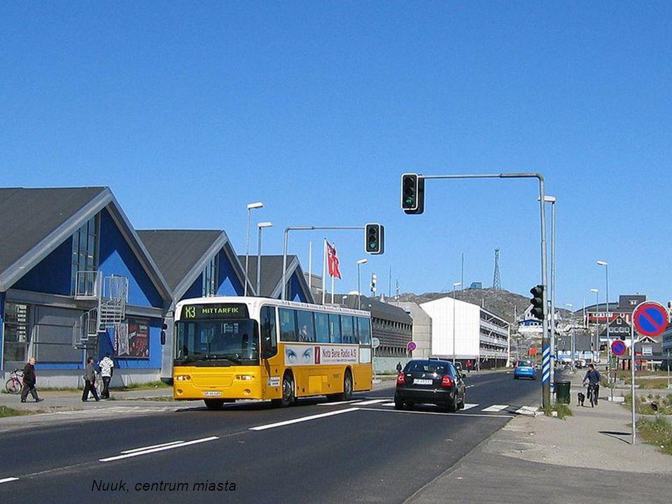 Nuuk, centrum miasta