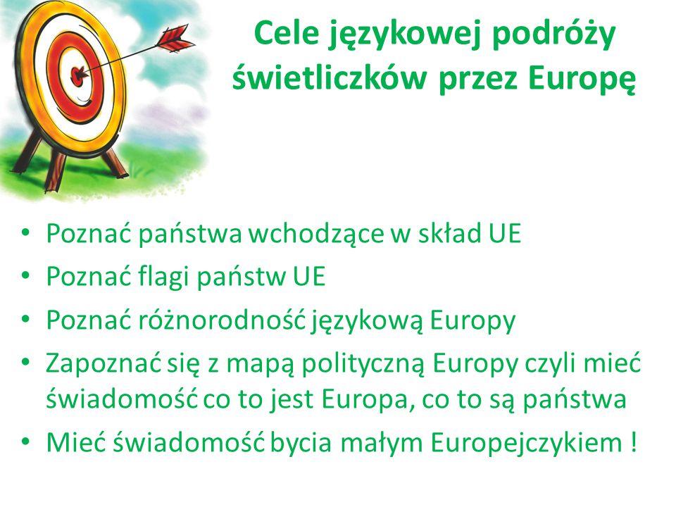 Cele językowej podróży świetliczków przez Europę