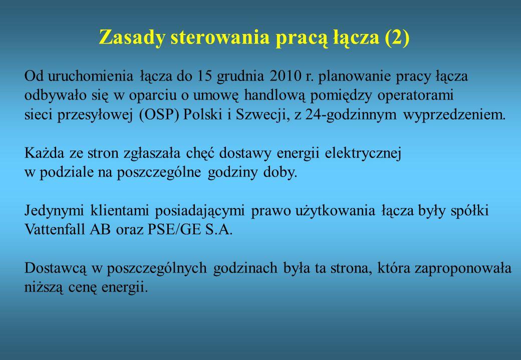 Zasady sterowania pracą łącza (2)