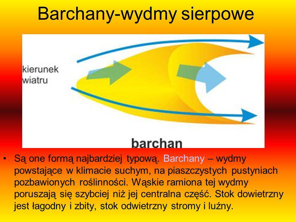 Barchany-wydmy sierpowe