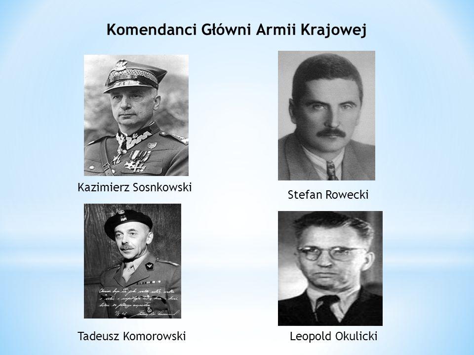 Komendanci Główni Armii Krajowej