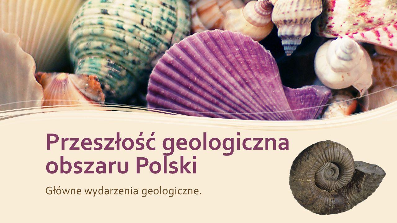 Przeszłość geologiczna obszaru Polski