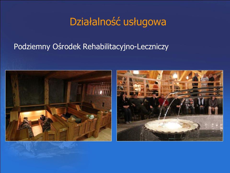 Działalność usługowa Podziemny Ośrodek Rehabilitacyjno-Leczniczy