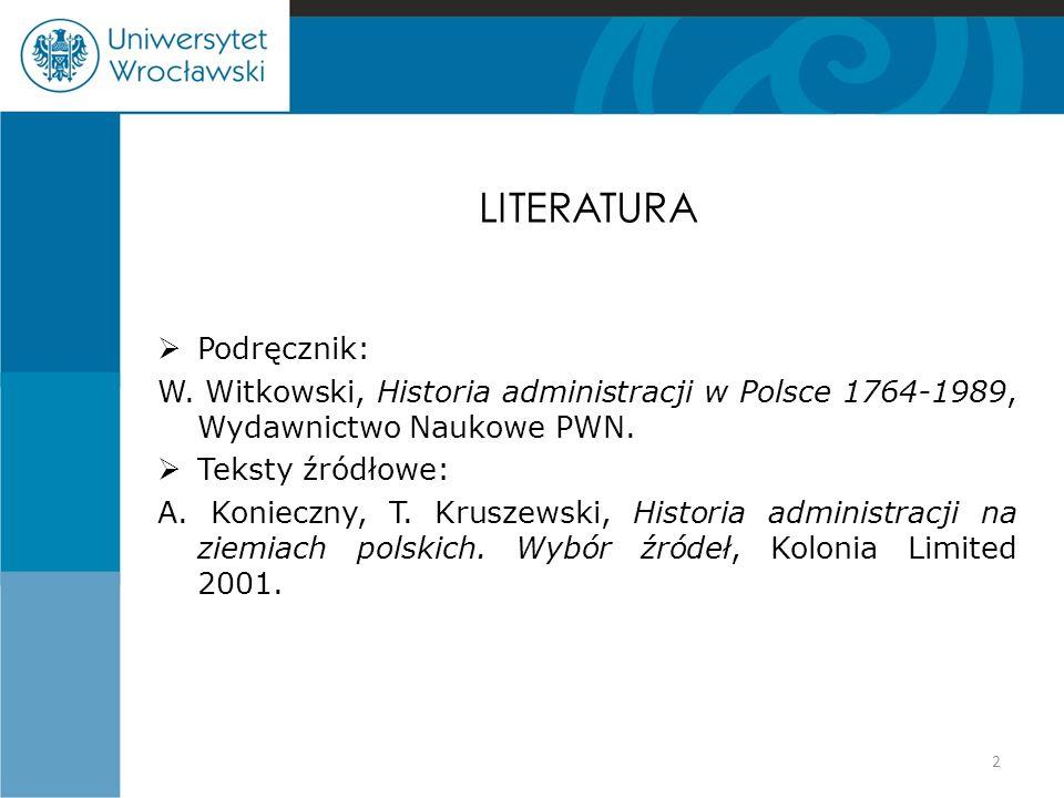 LITERATURA Podręcznik:
