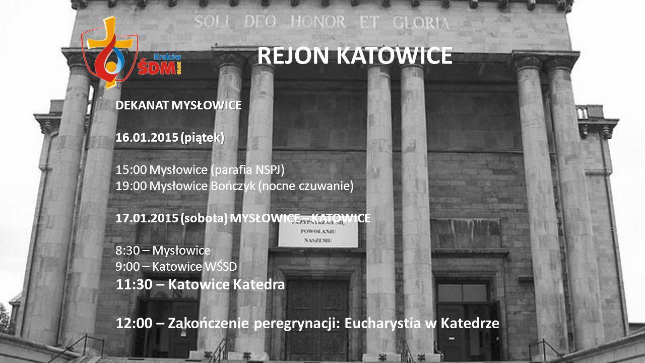 REJON KATOWICE 11:30 – Katowice Katedra