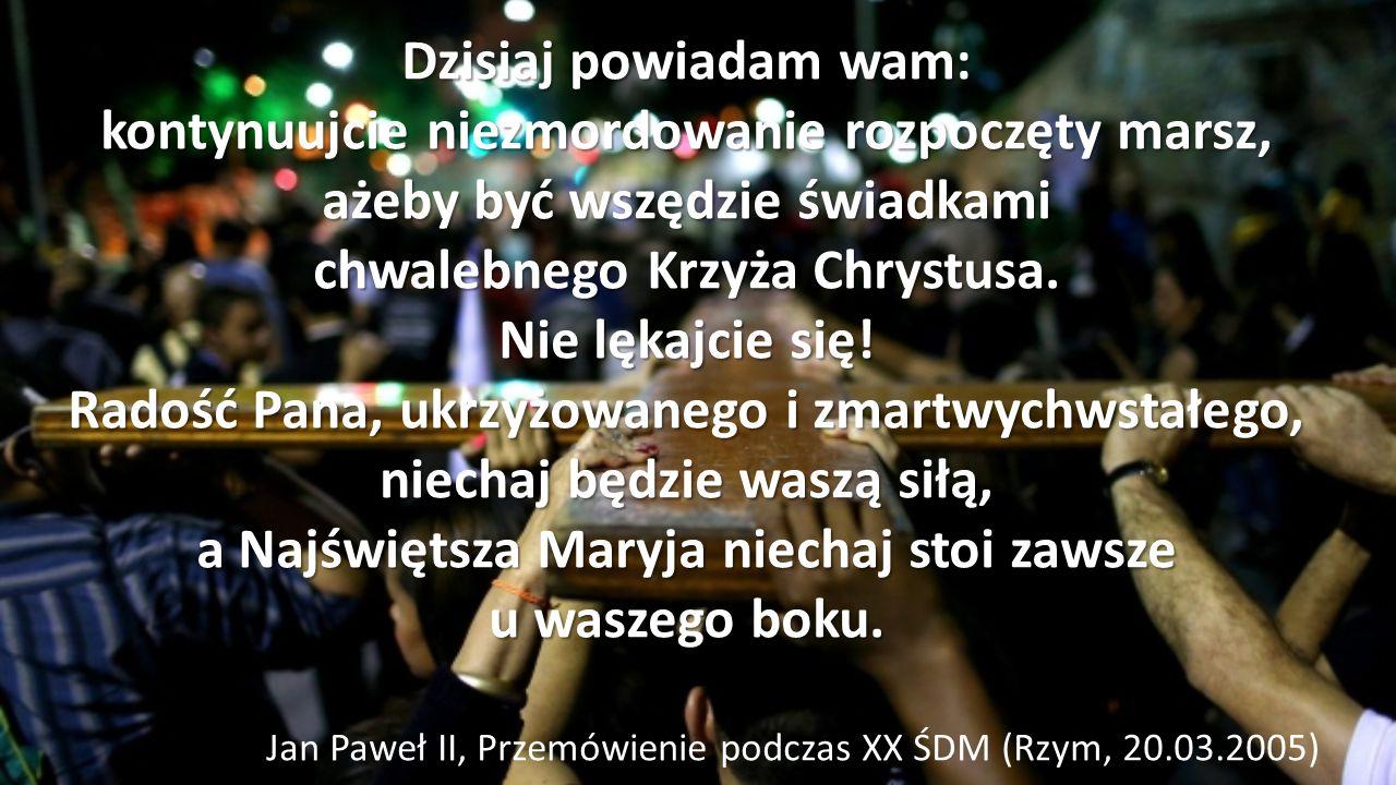 Jan Paweł II, Przemówienie podczas XX ŚDM (Rzym, 20.03.2005)
