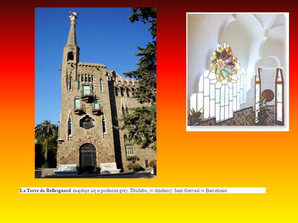 La Torre de Bellesguard znajduje się u podnóża góry Tibidabo, w dzielnicy Sant Gervasi w Barcelonie.