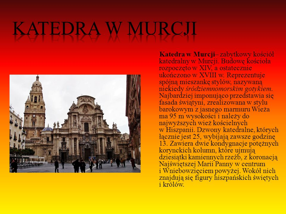 Katedra w Murcji