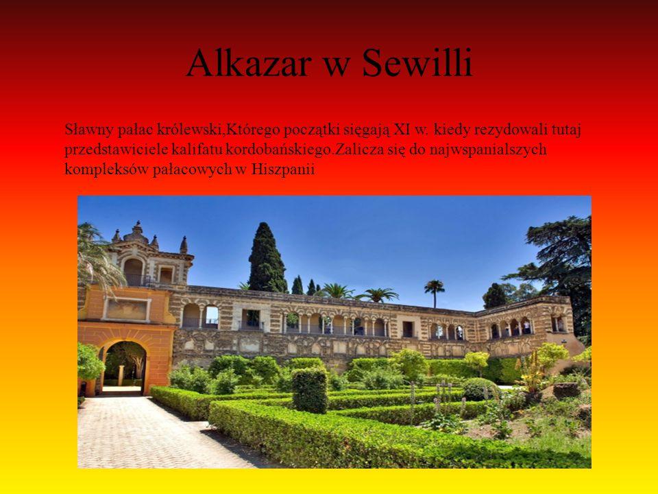 Alkazar w Sewilli