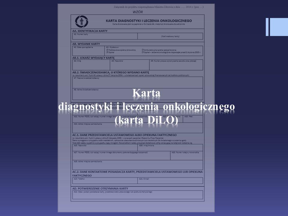 diagnostyki i leczenia onkologicznego