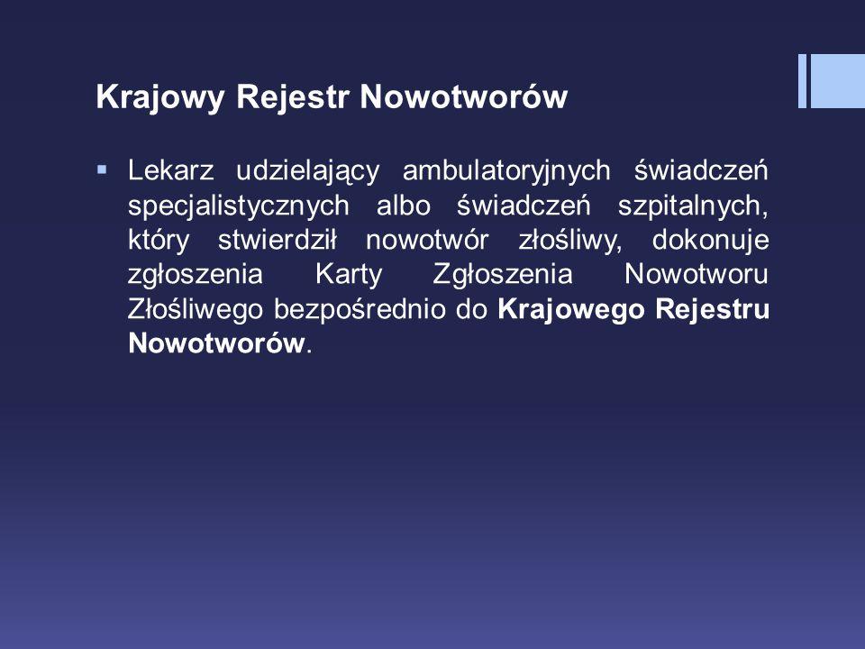 Krajowy Rejestr Nowotworów