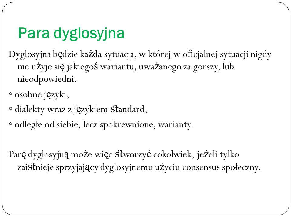 Para dyglosyjna