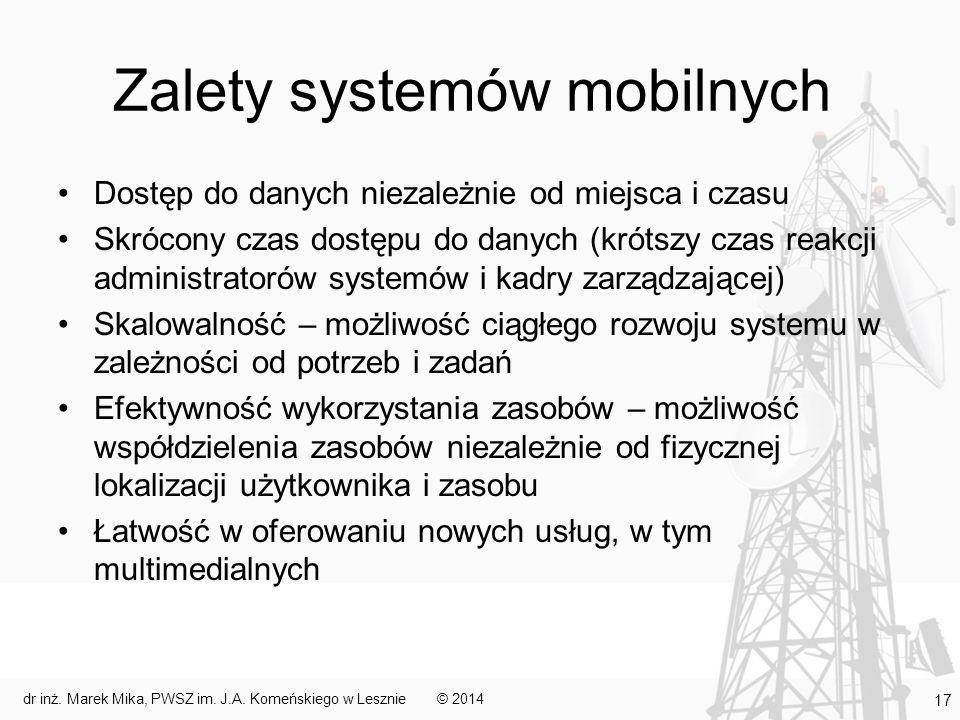 Zalety systemów mobilnych