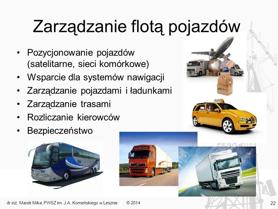 Zarządzanie flotą pojazdów