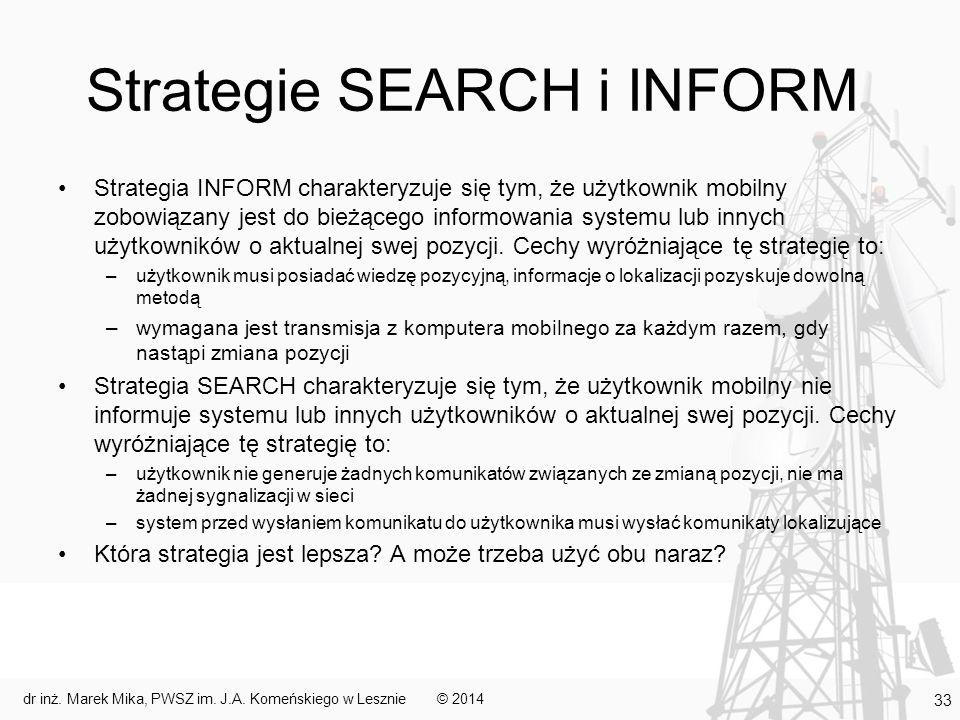 Strategie SEARCH i INFORM