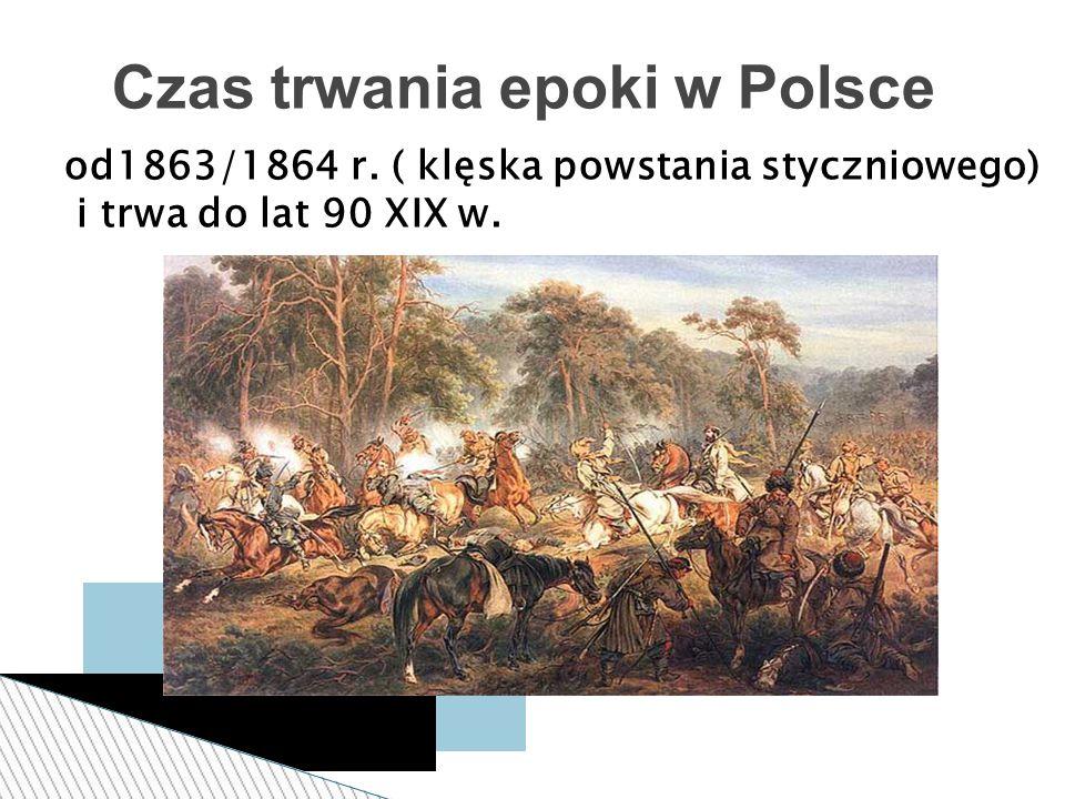 Czas trwania epoki w Polsce