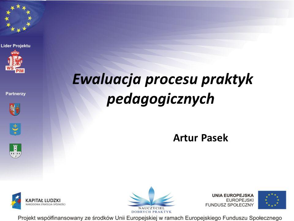 Ewaluacja procesu praktyk pedagogicznych