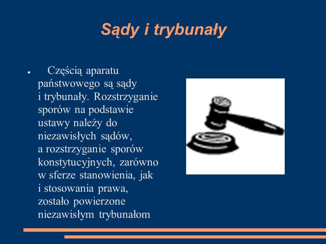 Sądy i trybunały