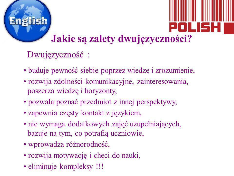 Jakie są zalety dwujęzyczności
