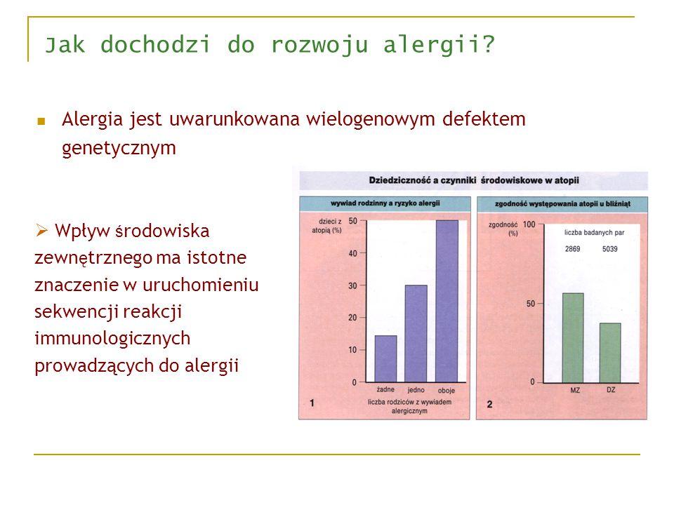 Jak dochodzi do rozwoju alergii