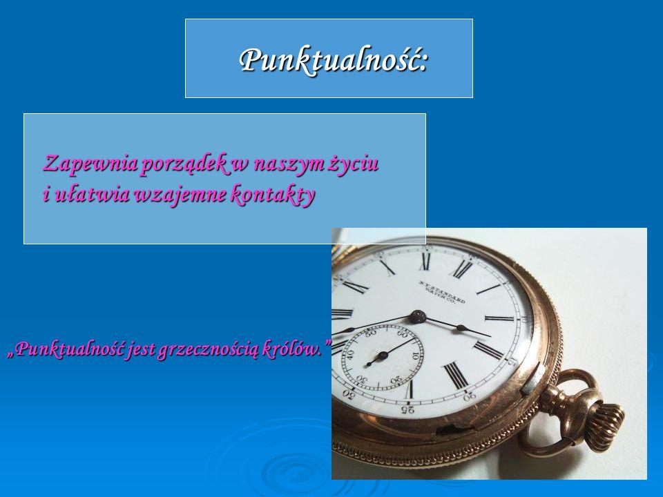 Punktualność: Zapewnia porządek w naszym życiu