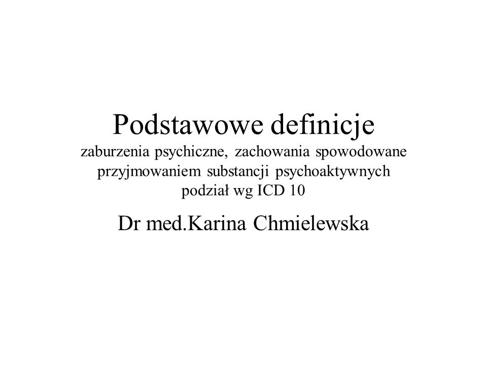 Dr med.Karina Chmielewska