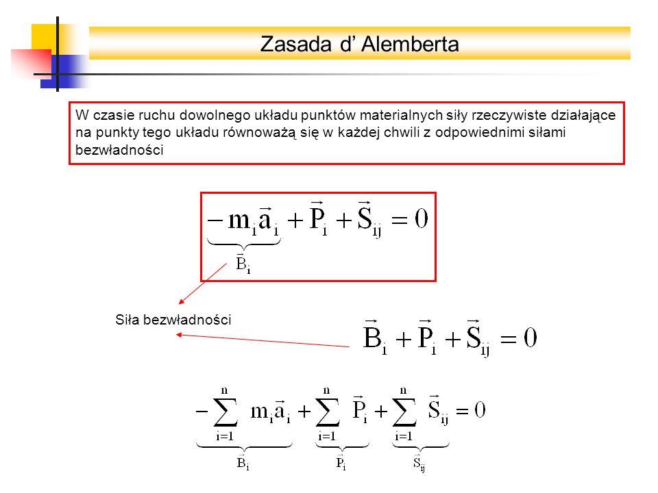 Zasada d' Alemberta