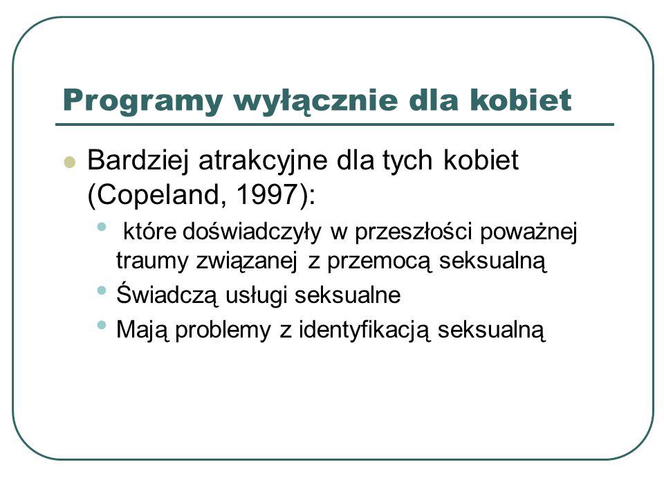 Programy wyłącznie dla kobiet