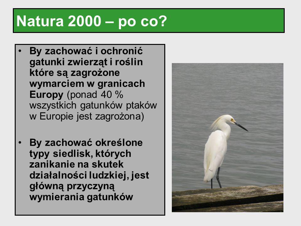 Natura 2000 – po co
