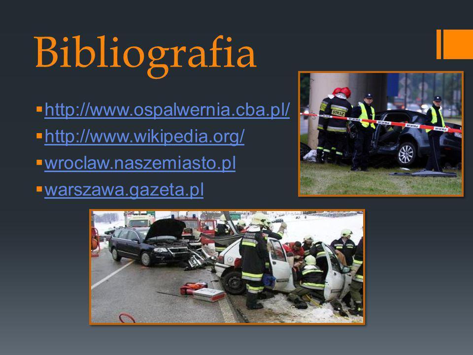 Bibliografia http://www.ospalwernia.cba.pl/ http://www.wikipedia.org/